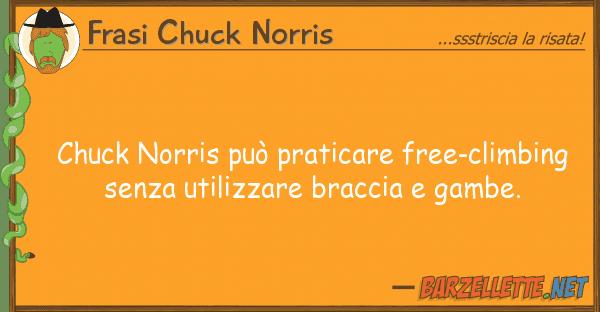 Frasi Chuck Norris chuck norris pu? praticare free-climbing