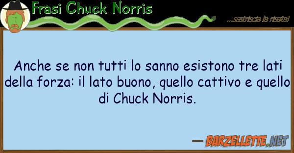 Frasi Chuck Norris sanno esistono tre