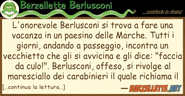 Barzellette Berlusconi l'onorevole berlusconi trova fare u