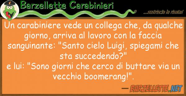 Barzellette Carabinieri carabiniere vede collega che, q