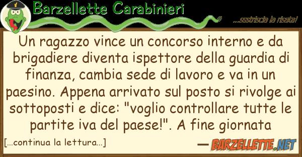 Barzellette Carabinieri ragazzo vince concorso interno d