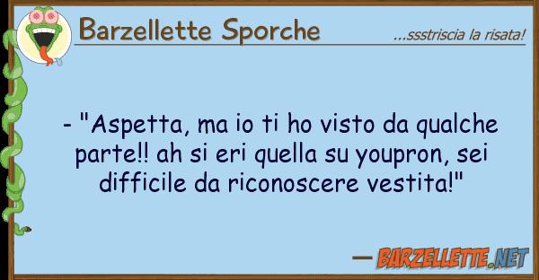 """Barzellette Sporche - """"aspetta, ho visto qualche"""