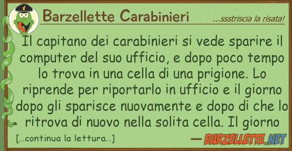 Barzellette Carabinieri capitano carabinieri vede spar