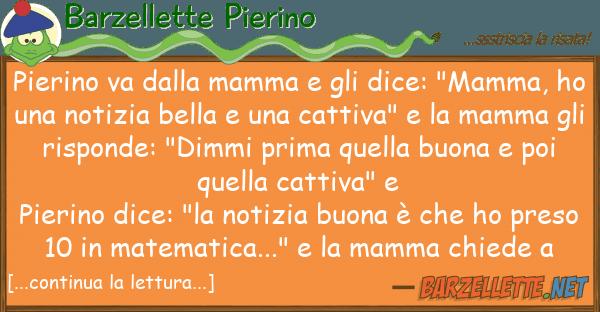 "Barzellette Pierino pierino va mamma dice: ""mamm"