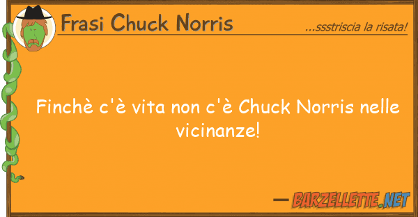 Frasi Chuck Norris finch? c'? vita c'? chuck norris