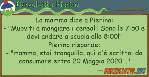 """Barzellette Pierino mamma dice pierino: - """"muoviti m"""