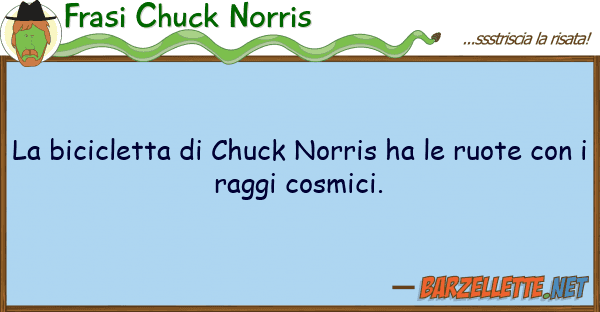 Frasi Chuck Norris bicicletta chuck norris ha ruot
