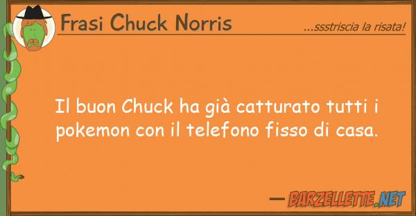 Frasi Chuck Norris buon chuck ha già catturato