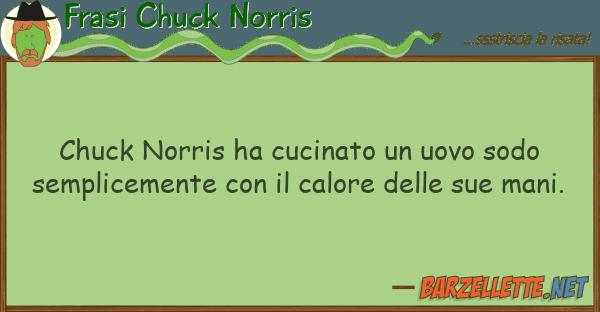 Frasi Chuck Norris chuck norris ha cucinato uovo sodo
