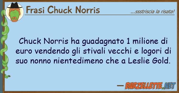 Frasi Chuck Norris chuck norris ha guadagnato 1 milione
