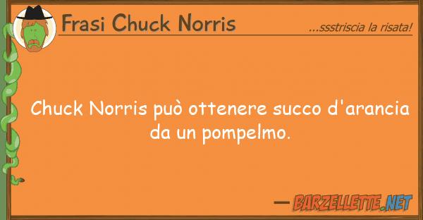 Frasi Chuck Norris chuck norris pu? ottenere succo d'aranci