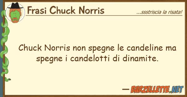 Frasi Chuck Norris chuck norris spegne candeline