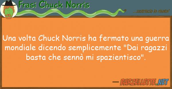 Frasi Chuck Norris volta chuck norris ha fermato gu