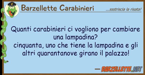 Barzellette Carabinieri carabinieri vogliono cambi