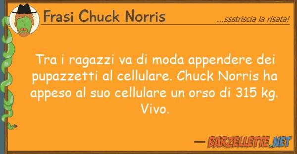 Frasi Chuck Norris ragazzi va moda appendere p