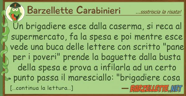 Barzellette Carabinieri brigadiere esce caserma, rec