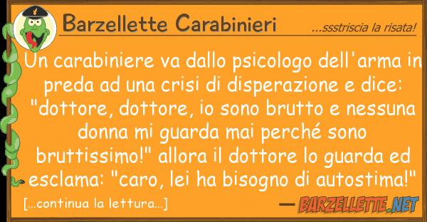 Barzellette Carabinieri carabiniere va psicologo dell'a