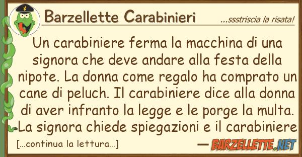 Barzellette Carabinieri carabiniere ferma macchina