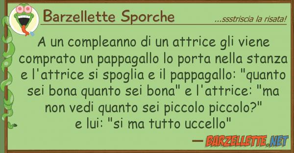 Bien-aimé Barzelletta: A un compleanno di un attrice gli viene comprato un YL21