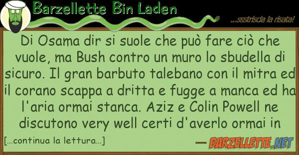Barzellette Bin Laden osama dir suole pu? fare ci?