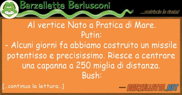 Barzellette Berlusconi vertice nato pratica mare. put