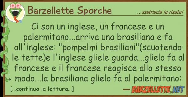 Barzellette Sporche son inglese, francese pale