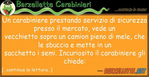 Barzellette Carabinieri carabiniere prestando servizio sic