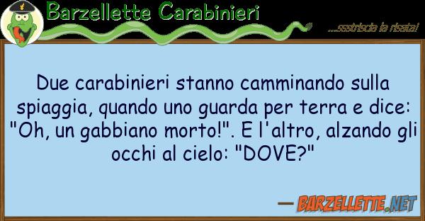 Barzellette Carabinieri due carabinieri stanno camminando