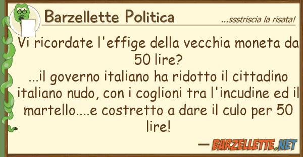Barzelletta vi ricordate l 39 effige della vecchia moneta da for Sito governo italiano